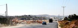 Einfahrt nach Beyt Fajjar