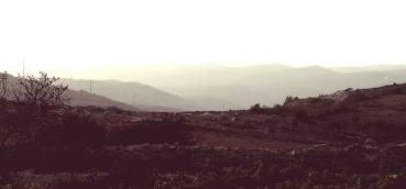 Berge um Neve Daniel herum