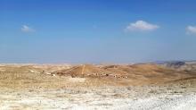 Ma'ale Rechavam, Jehuda-Wüste