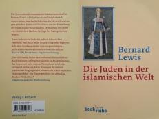 """""""Die Juden in der islamischen Welt"""", von Bernard Lewis"""