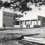 Das Synagogengebäude in Kfar Etzion, später Stabsquartier während des Unabhängigkeitskrieges