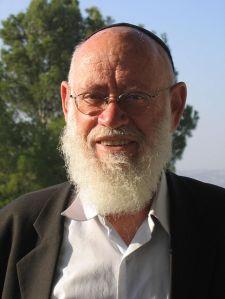 Rabbiner Moshe Levinger z'l. Quelle: Wikipedia