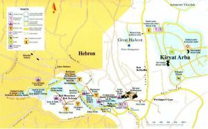 Hevron - jüdisches Viertel - die Sehenswürdigkeiten