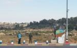 Die Gush Etzion-Kreuzung in friedlicheren Tagen. Heute stehen dort noch mehr Betonklötze.