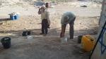 Säuberungsarbeiten in Ssanur.