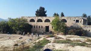 Die Ruine von Ssanur.