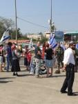 An der Gush Etzion-Kreuzung. Foto: Nadia Matar