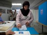 Israelisch-arabische Frau wählt. Quelle: i24