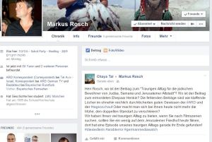 Mein Beitrag an Markus Rosch auf Facebook. 02.10.15