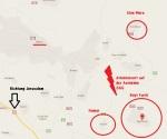 Karte zum Attentatsort