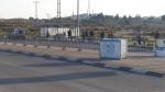 Anhalterplatz, Gush Etzion Kreuzung, Polizeiabsperrung