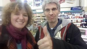Aufgenommen beim Einkaufen in einem Siedlersupermarkt