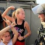 Ahed gegen die Soldaten, Quelle: Haber5
