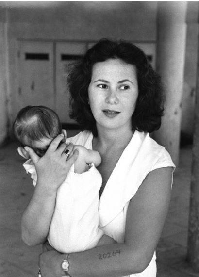 Lily, eine Ueberlebende, 1951 in Israel. Quelle: popchassid.com