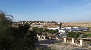 Sicht auf Kochav Hashachar