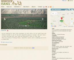 """Um diese Farm geht es: Farm 298 in Hamra. Als Region wird """"West Bank - Jordan Rifr Valley"""" verzeichnet."""