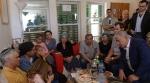 Das Trauersitzen (Shiva) von Familie Ariel. Auch Premierminister Netanyahu kam zu Besuch. Quelle: Nana