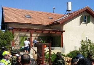 Das Haus von Hallel und ihrer Familie. Quelle: Maariv