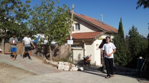 Das Haus der Familie Mark in Otni'el.