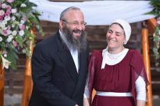 Michael und seine Frau Chava. Quelle: INN