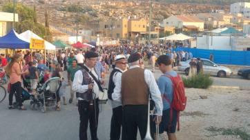 Klezmer-Festival in Samaria. Foto: Facebook