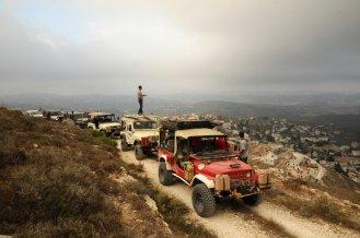Im Norden von Samaria. Foto: Facebook