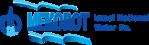 Das Logo der Mekorot-Firma. Man kann sie kontaktieren.