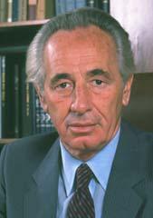 Ex-Praesident Israels Shimon Peres (1923-2016).
