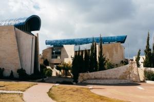 Der neue Synagogenkomplex in Alon Shevut. Foto: Jonas Opperskalski/laif
