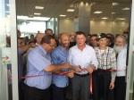 Einweihung des neuen Einkaufszentrums, mit Knessetsprecher Yuli Edelstein und Abgeordnete Shuli Mu'alem-Refaeli (2. und 1.v.r). Foto: Regionalverwaltung