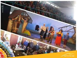 Theateraufführung in den Hevron-Bergen. Foto: Regionalverwaltung Har Hevron