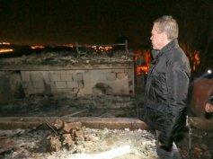 Minister Gilad Erdan in Neve Tzuf (Halamish). Quelle: Ma'ariv