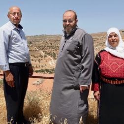 Mitglieder der Familien Hammad (Mariam,rechts) und Ya'akub (links außen). Quelle: Yediot Ahronot