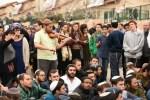 Die Protestierenden in Ofra. Quelle: Haaretz